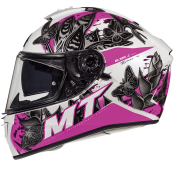 Casca integrala MT Blade 2 SV Breeze D8 roz perlat lucios