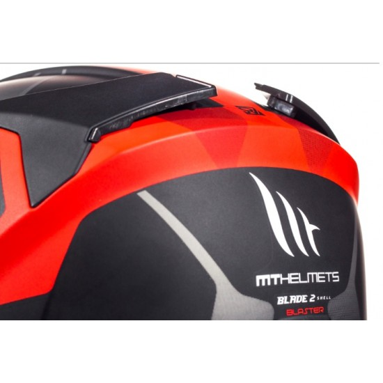 Casca integrala MT Blade 2 SV Blaster B2 rosu mat
