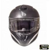 Casca integrala motociclete MT Targo solid A1 negru mat