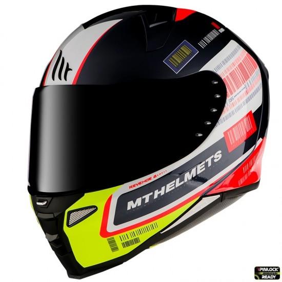 Casca integrala MT Revenge 2 RS A1 negru lucios